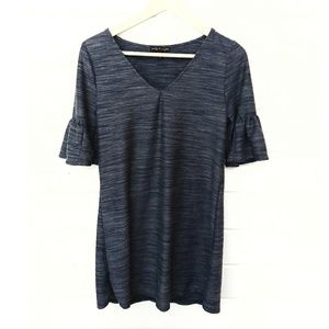 Short Bell Sleeve Tunic Size Small
